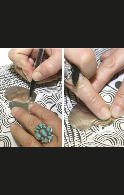 Créez vos bijoux pour les fêtes: dessiner des motifs