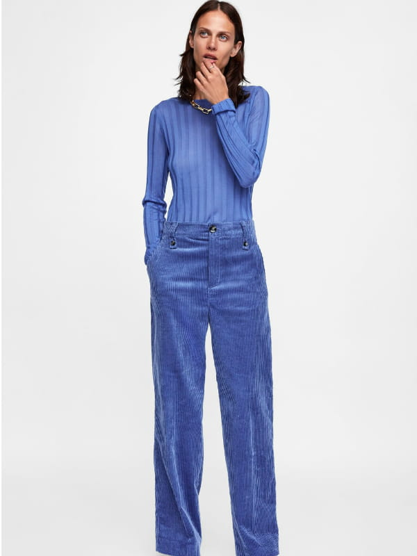pantalon femme zara hiver 2018