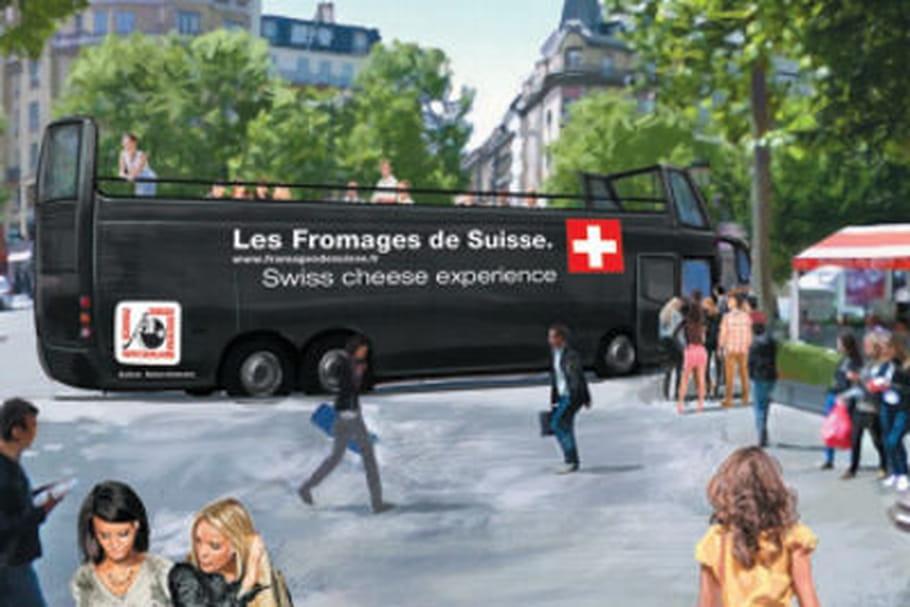 Swiss Cheese Experience : quatre chefs subliment les fromages de Suisse dans un bus