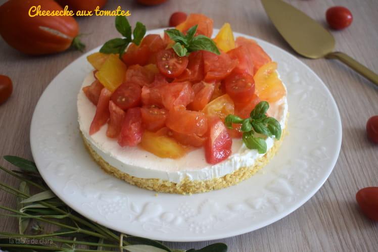 Cheesecake aux tomates