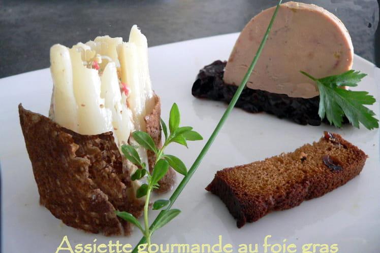 Foie gras gourmand