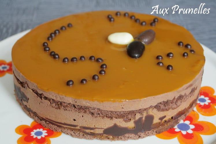 Entremets Chocolat mangue