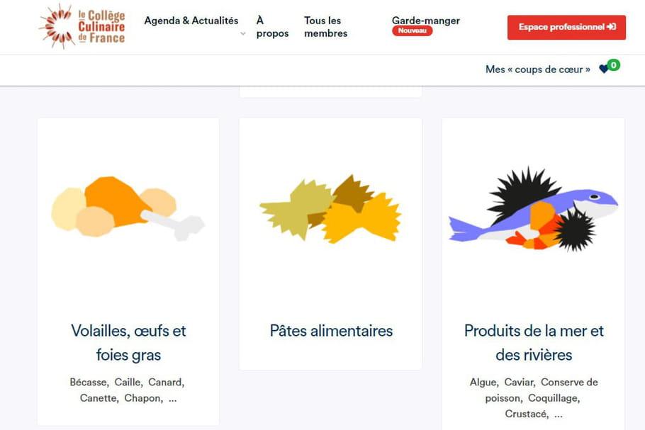 """Le Collège Culinaire de France ouvre son """"garde-manger"""" virtuel"""