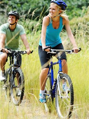 pour prendre l'air et bouger, utilisez régulièrement votre vélo.