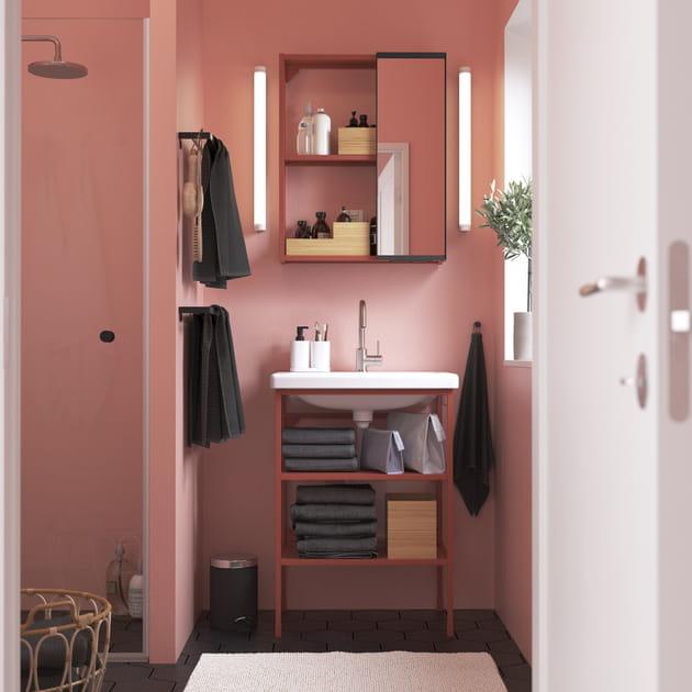Salle de bains IKEA effet bonne mine