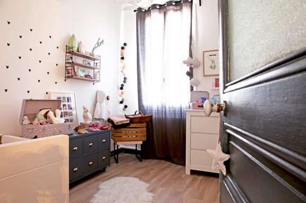 Une chambre de bébé pastel
