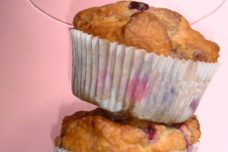 Muffins tout rose