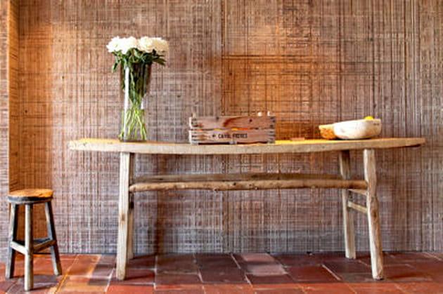 le bois comment l 39 utiliser en d co. Black Bedroom Furniture Sets. Home Design Ideas