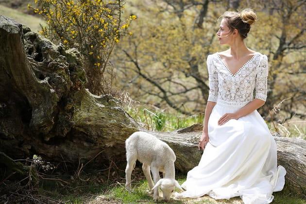 Des robes manches longues pour les mariages d 39 hiver for Robes mignonnes pour les mariages d hiver