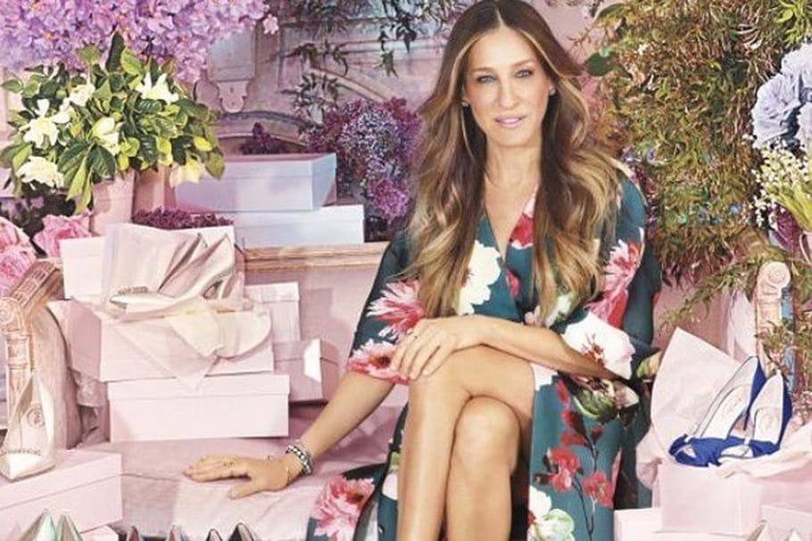 Sarah Jessica Parker lance sa collection de chaussures de mariée