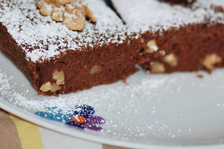 Brownie light aux noix