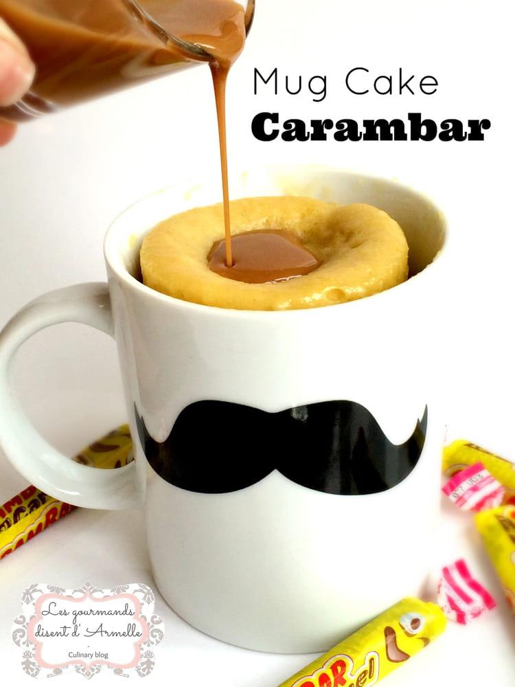 Recette de mug cake carambar la recette facile - Gateau dans un mug ...