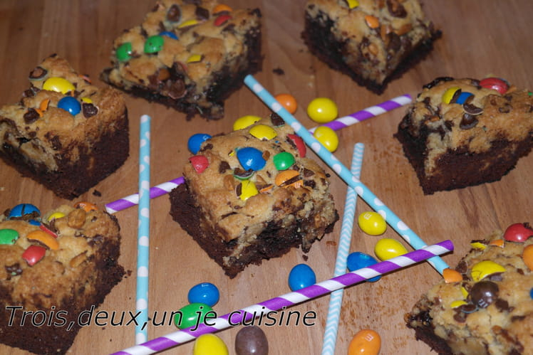 Brookies aux M&M's