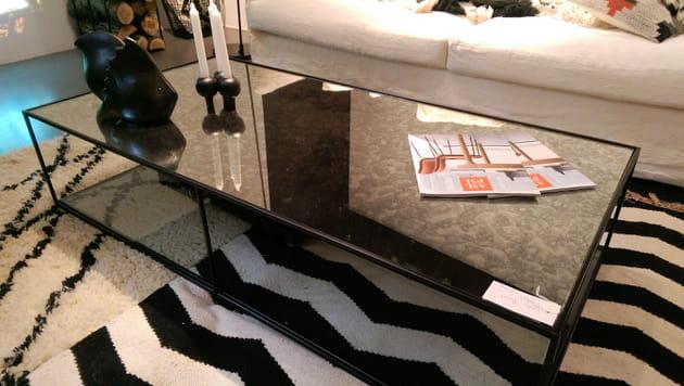 Table Miroir pm Vieilli Basse D'am Romy mOnv8wN0