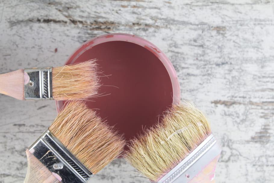 Conserver les restes de peinture