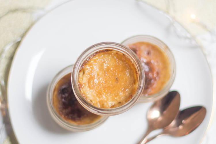 Crème brûlée au foie gras en verrines