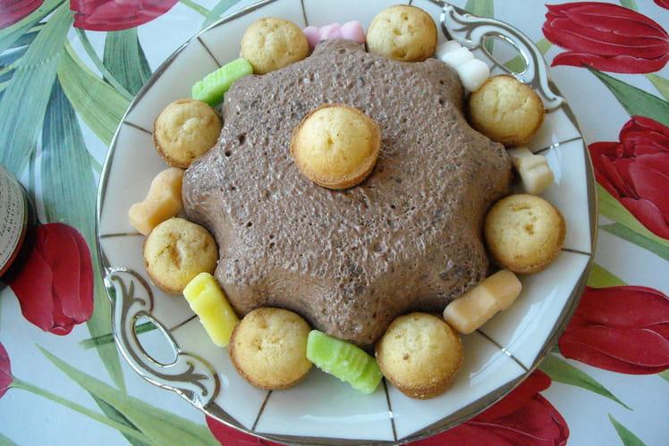 Bavarois au Nutella