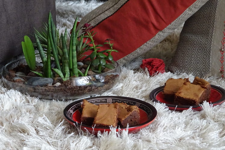 Gâteau ultra fondant au chocolat et crème de marrons