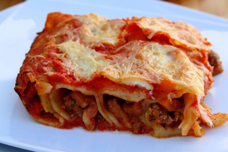 Cannelloni façon bolognaise