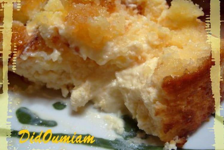 Cheesecake coco-citron