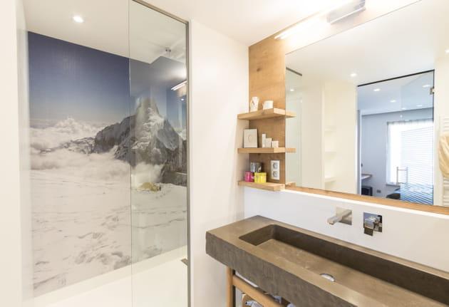 La montagne jusque sous la douche