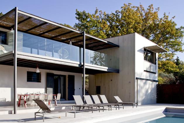 Une maison métamorphosée par une extension