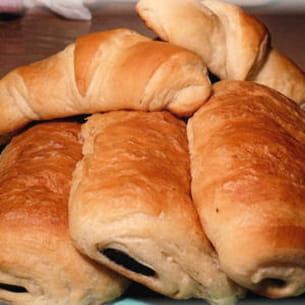 croissants et pains au chocolat