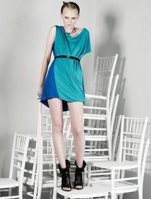 la robe colorée de viktor and rolf
