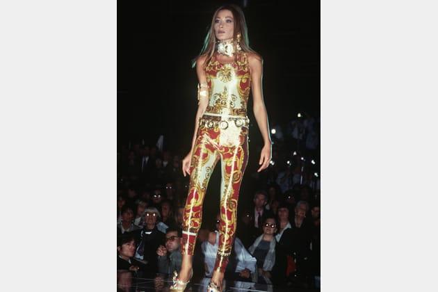 Carla Bruni dans les années 90
