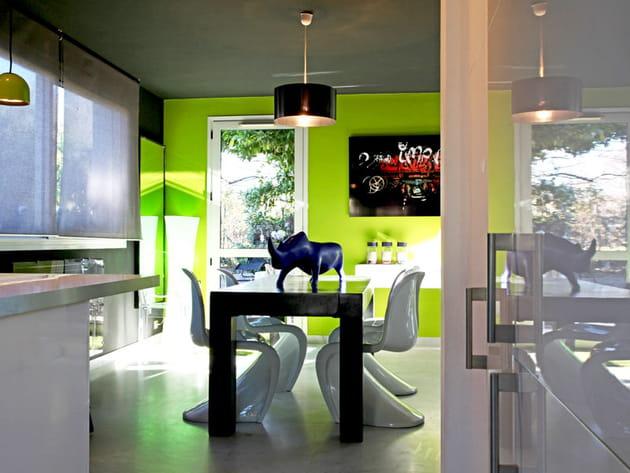 Univers design dans la salle à manger