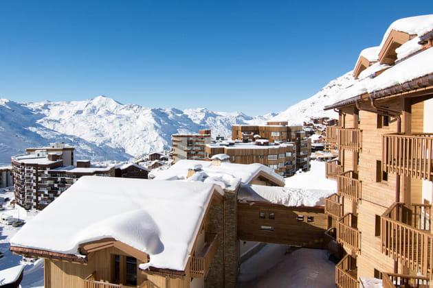 Les Alpes pour décor