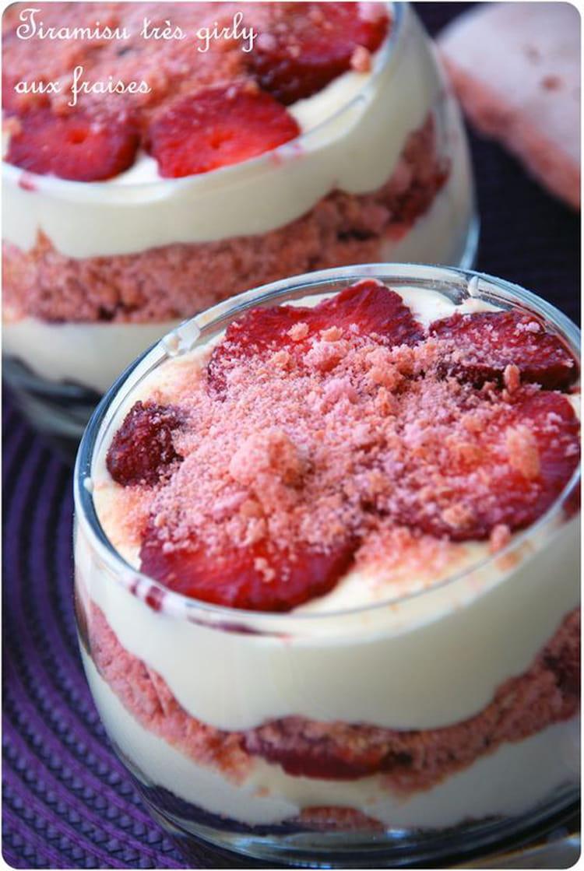 recette tiramisu fraise biscuit