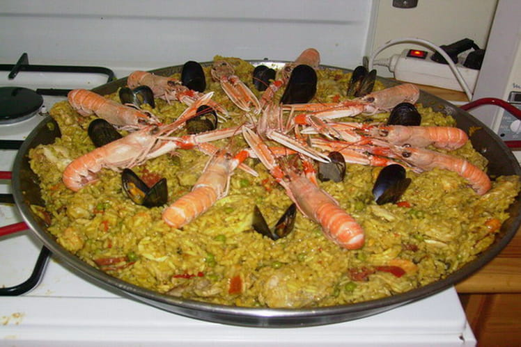 Paella authentique et familiale