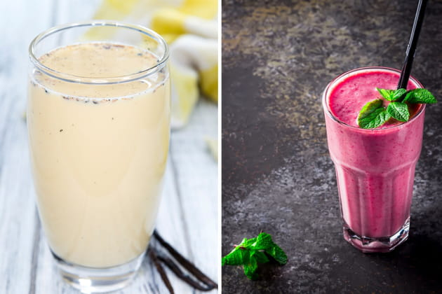 Milk-shake ou smoothie ?