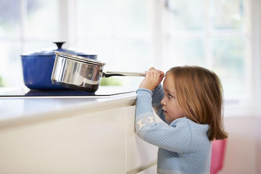 Accidents domestiques : attention aux enfants !