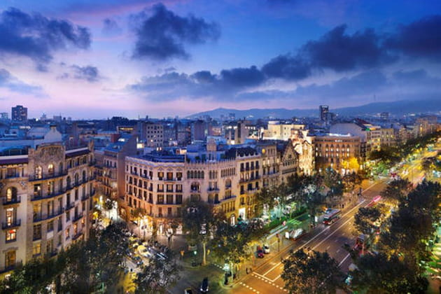 Mandarin Oriental pose ses valises à Barcelone