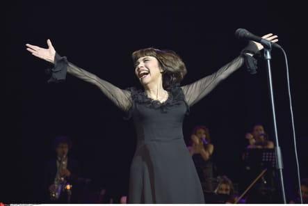 50 ans de carrière, à l'Olympia, en 2014
