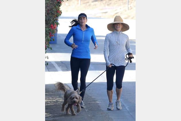 Felicity Huffman en plein jogging