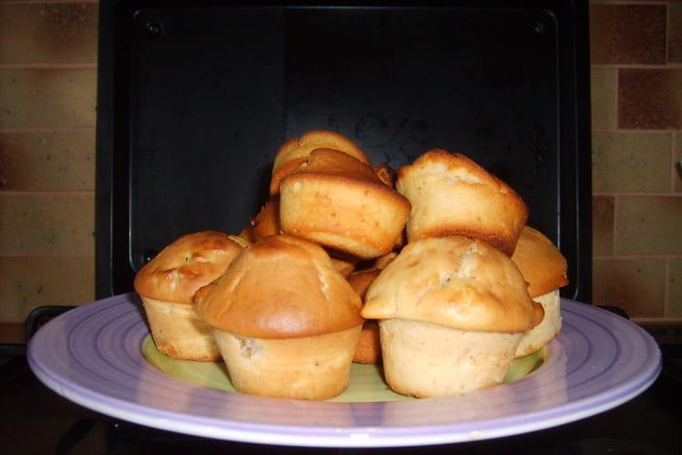 Muffins pomme-beurre de cacahuète