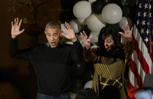 Barack et Michelle Obama, terrifiants danseurs