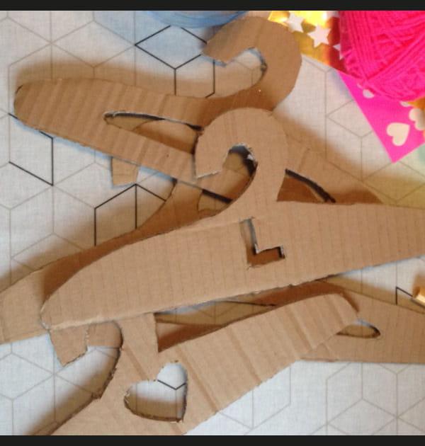 Etape 2: découper les cintres