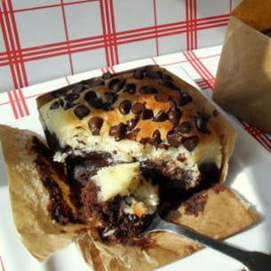 fondants au chocolat, mascarpone et noix de coco