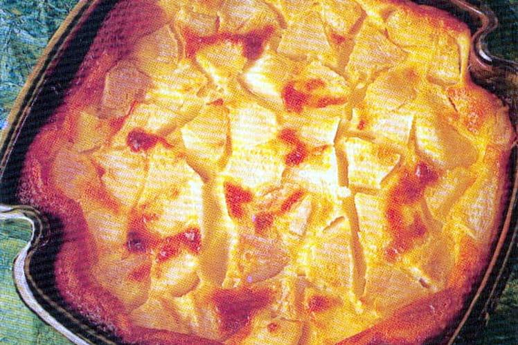 Clafoutis moelleux aux poires
