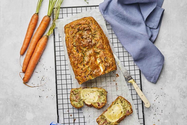 Cakes aux fanes de carottes