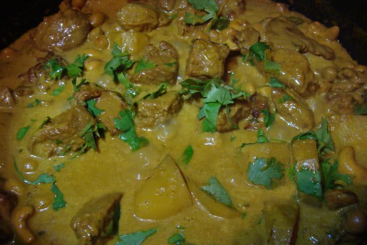 Quasi de veau au curry