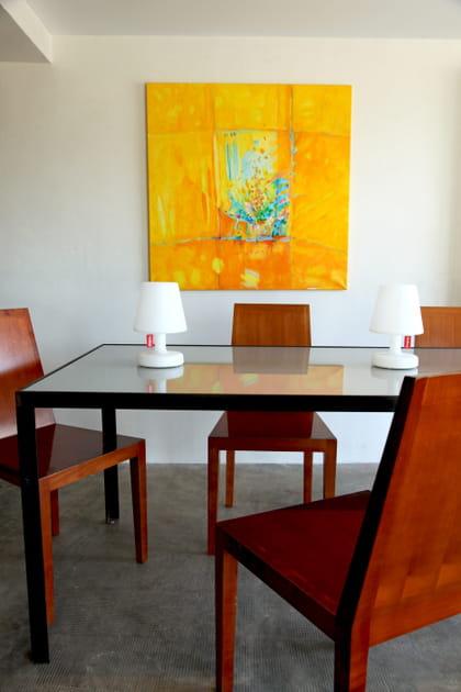 Des chaises géométriques