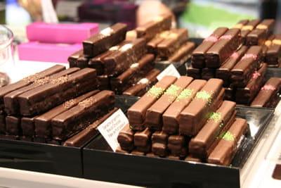 christophe roussel présentera ses barres 'electro'choc' au salon du chocolat
