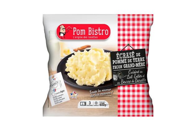 L'écrasé de pommes de terres Pom Bistro