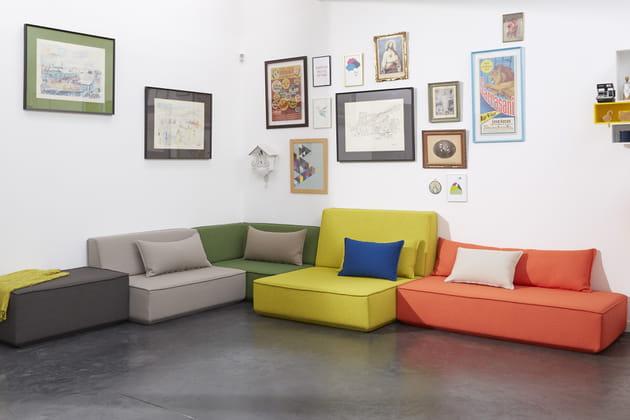 Canapé modulable par Cubit