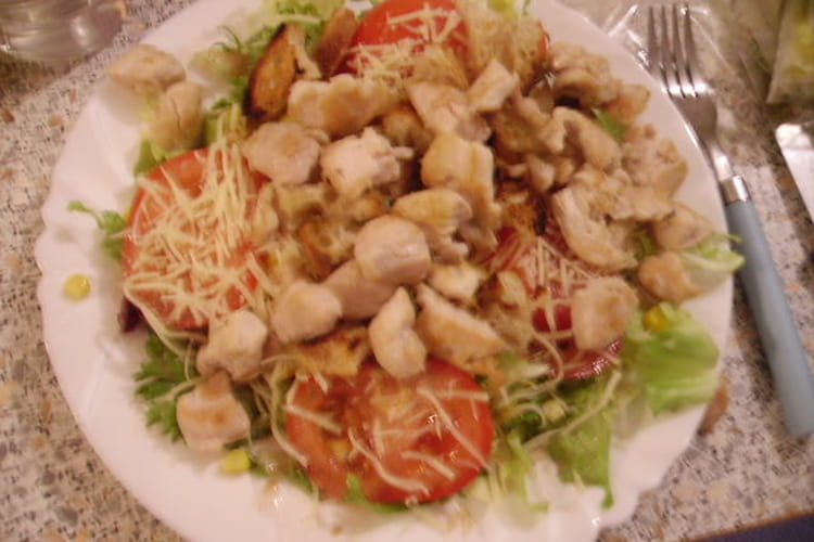 Salade César maison